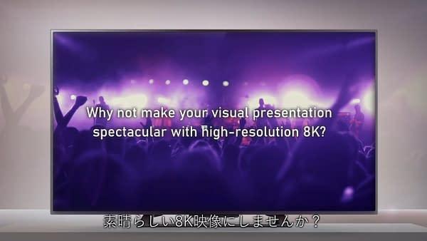 8K LIVE ソリューション